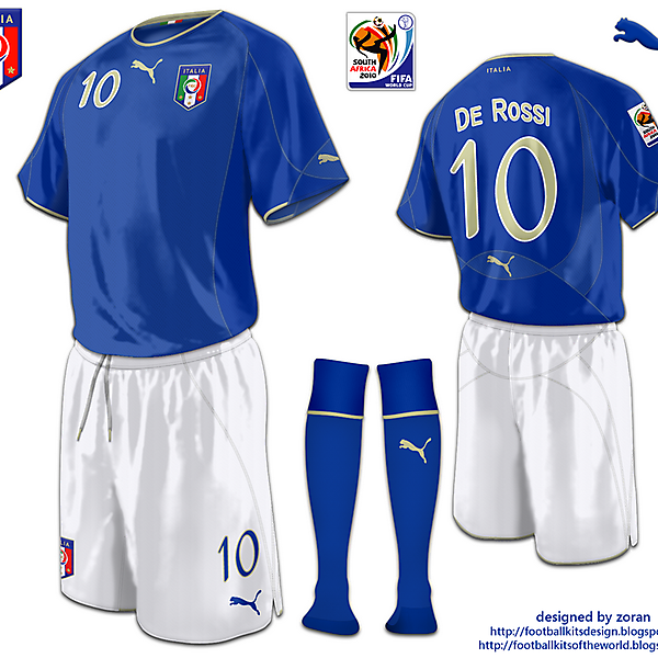 Italy World Cup 2010 fantasy home