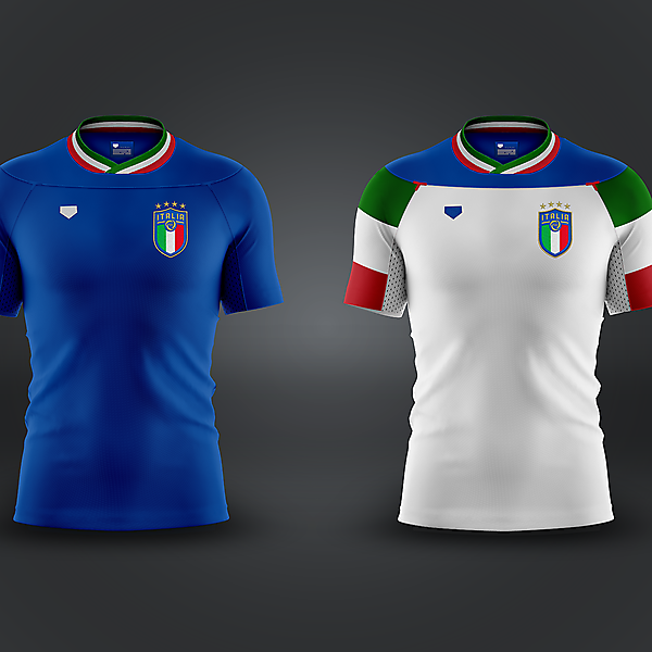 Italy NT [home & away]