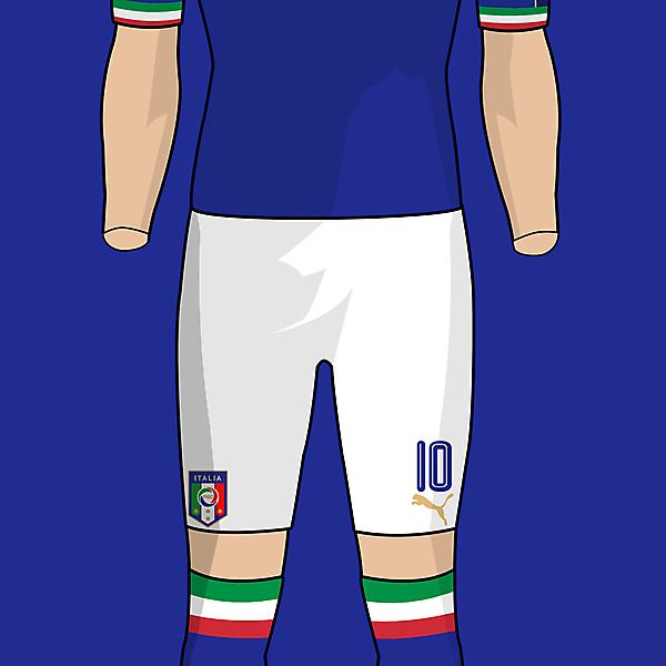 Italy x Puma - Home kit concept
