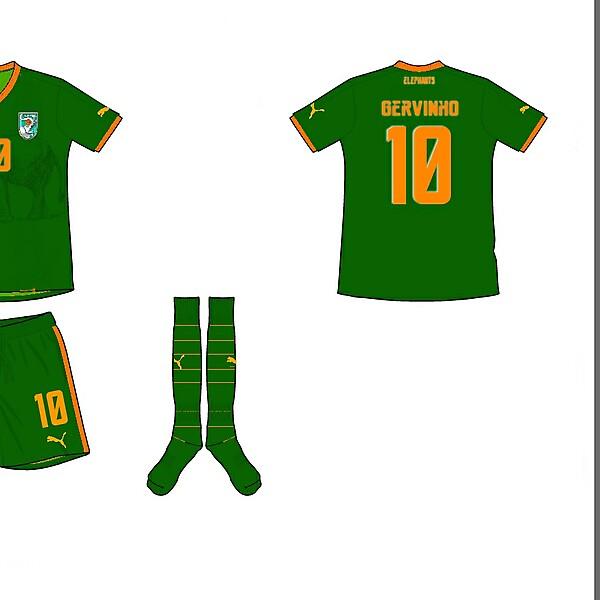 Ivory Coast Away Kit