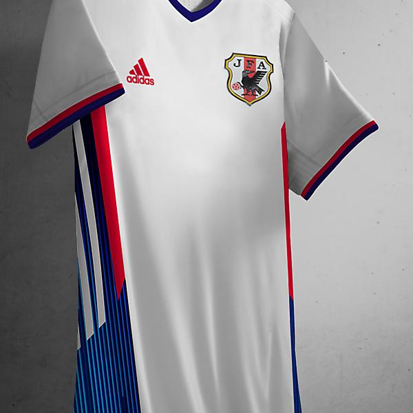 Japan Away Kit Adidas