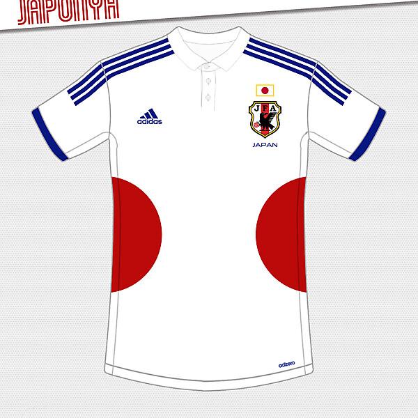 Japan Away Kit Design