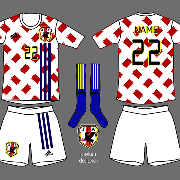 Japan Kits Away 2017