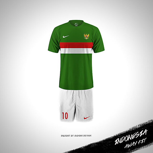 Jersey away Indonesia