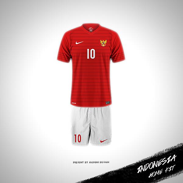 Jersey timnas Indonesia 2015