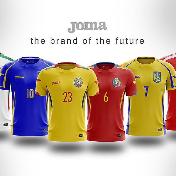 Joma - 3x3 - templates x nations