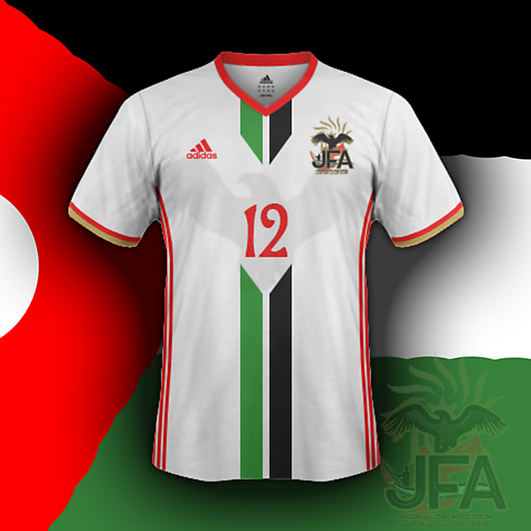 Jordan home (based on my crest redesign for CRC)