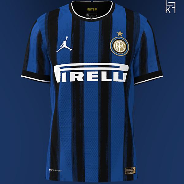 Jordan X Inter Milan