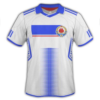 Yugoslavia Away Kit 2010