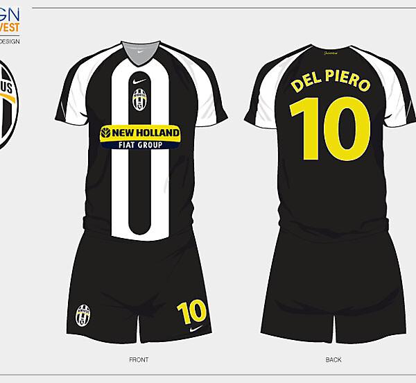 Fantasy Juventus Home Football Kit