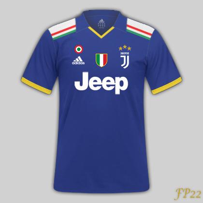 Juventus Adidas | Alternative Kit (Blue)