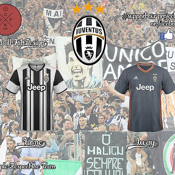 Juventus Adidas Concept 2016/2017