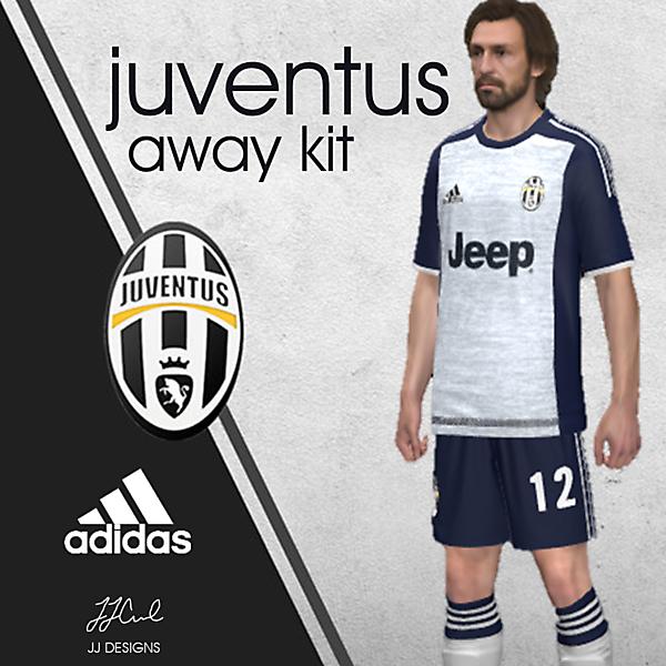 JUVENTUS adidas kit away