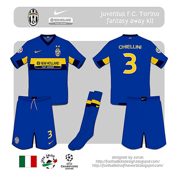 Juventus F.C. fantasy away