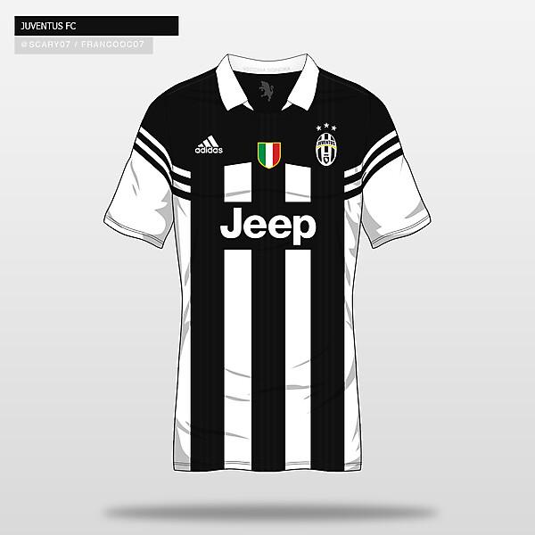 JUVENTUS FC - Home16/17 (Concept)