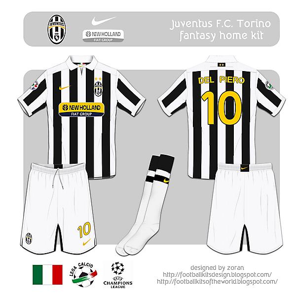 Juventus F.C. fantasy home