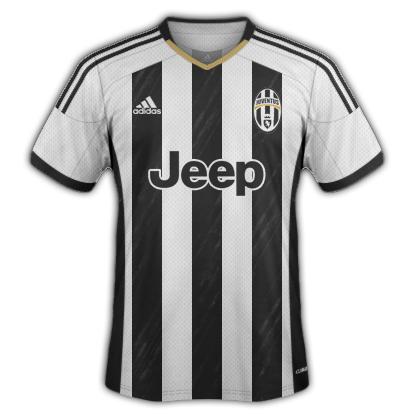 Juventus Home Kit 2015/16 Designs