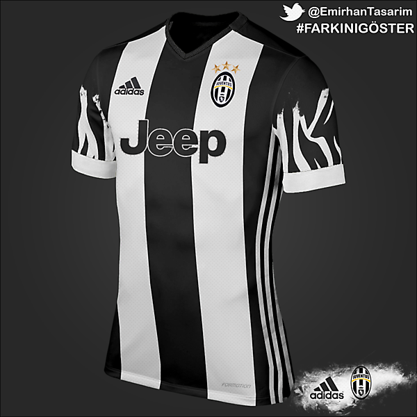 Juventus Home Kit Design