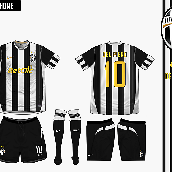Juventus Home Nike