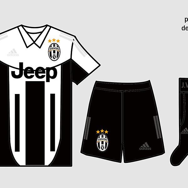 Juventus Kits Home 2017