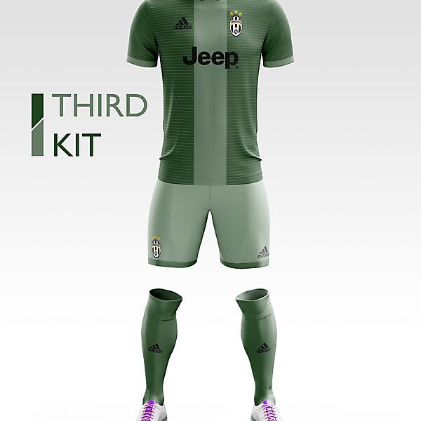 Juventus Third Kit 17/18.