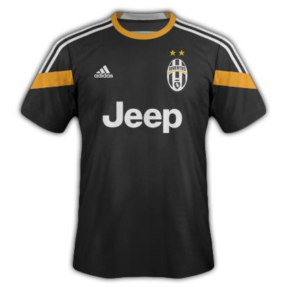 Juventus Third kit 2014/15 with Adidas