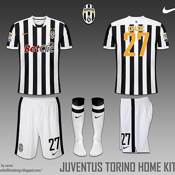 Juventus FC Torino fantasy home and away