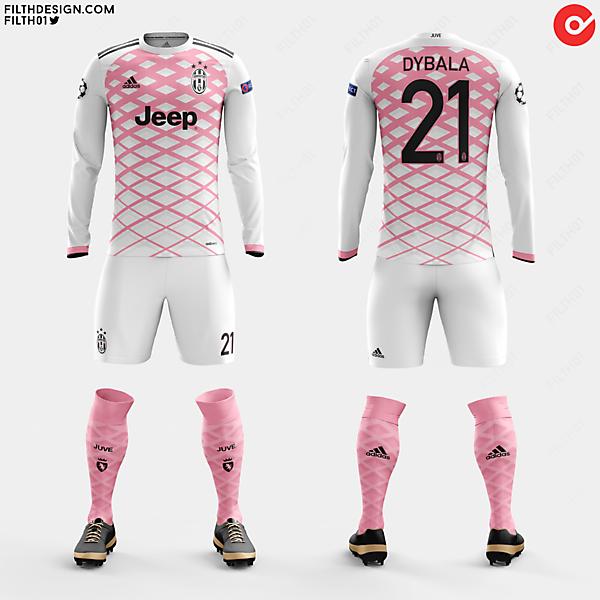 Juventus x adidas   Away Kit