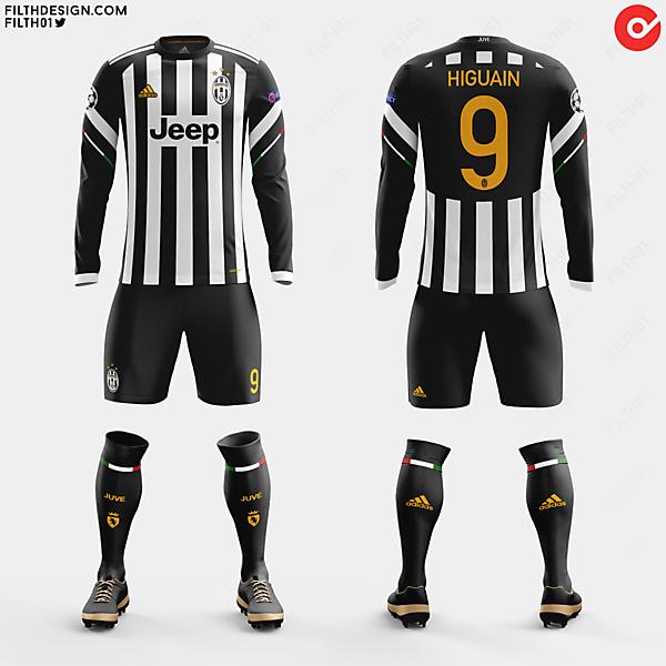 Juventus x adidas   Home Kit