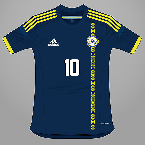 Kazakhstan - Away