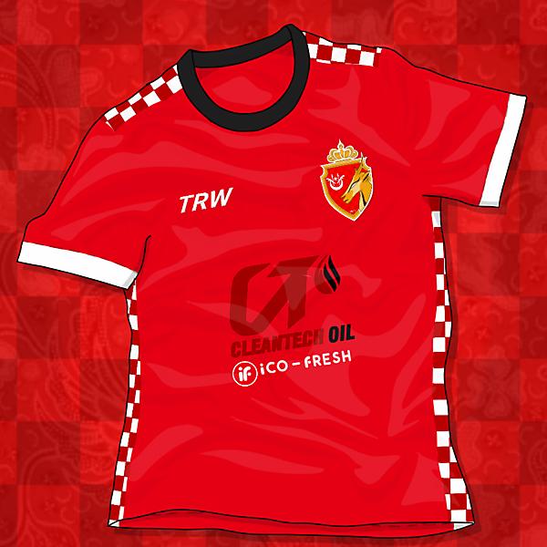 KELANTAN FC JERSEY