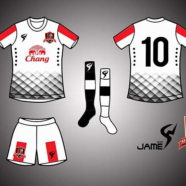 KhonKhaen United Kits Away 2017