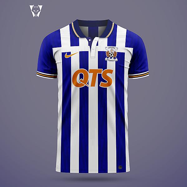 Kilmarnock - home shirt