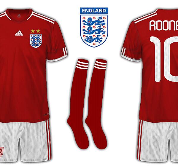 England by Adidas away kit
