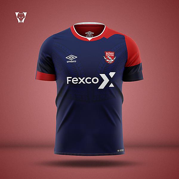 Kiwi FC x Umbro - away concept