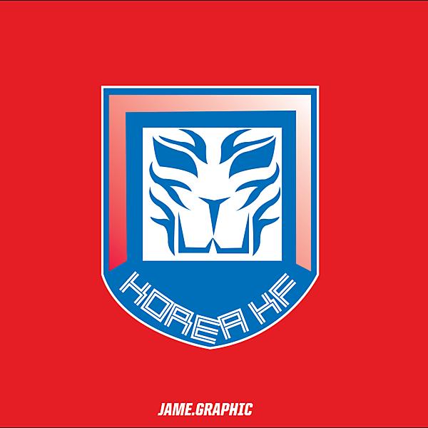 Korea logo design