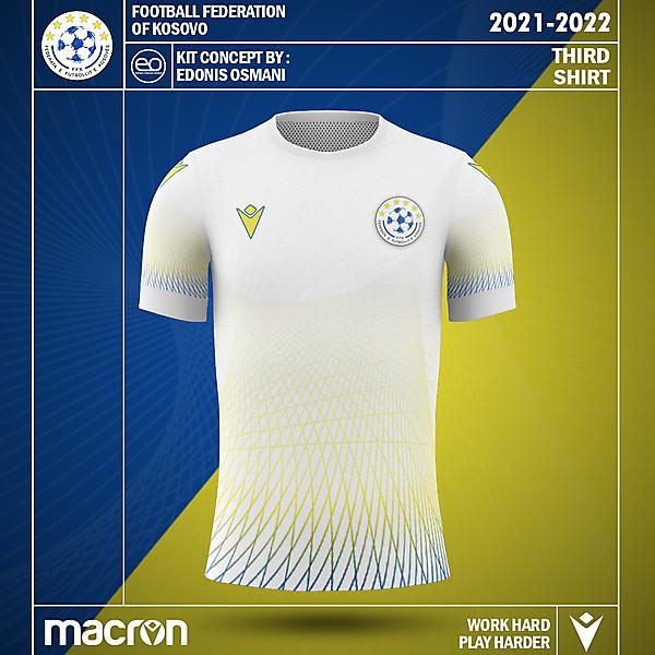 KOSOVOxMACRON - Kosovo Kit Concept - Third Kit