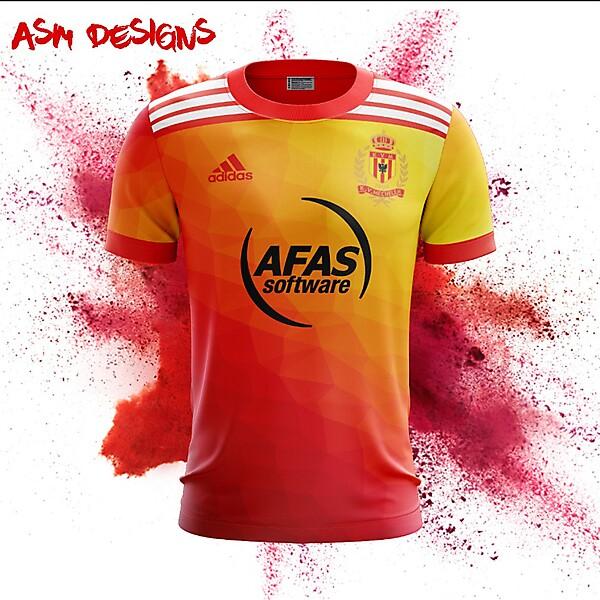 KV Mechelen Adidas 2018 Home kit