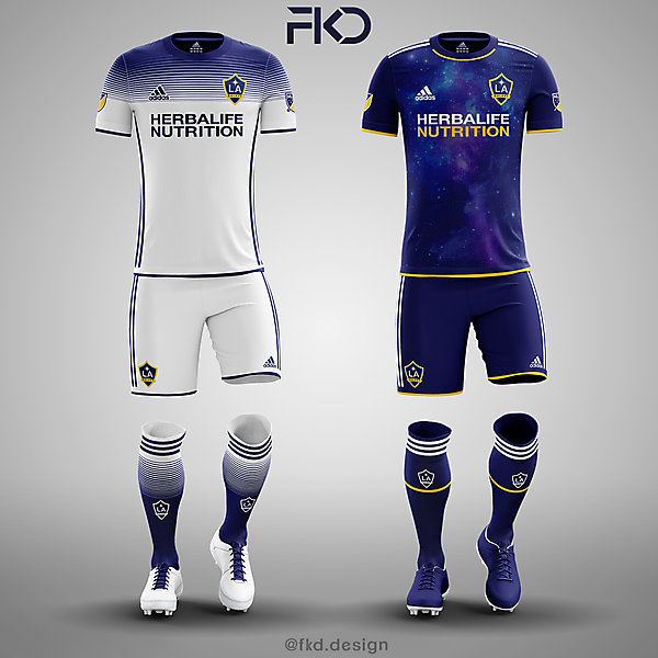 LA Galaxy Adidas Concepts (Home/Away)