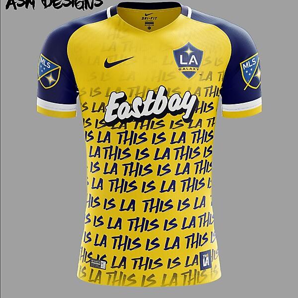 LA Galaxy Nike 2018 Away Kit