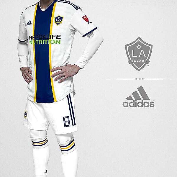 LA Galaxy x Adidas home kit