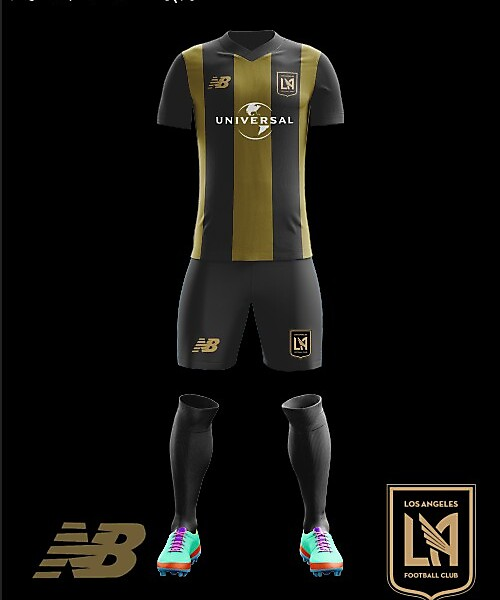 LAFC 2018 Home Kit New Balance