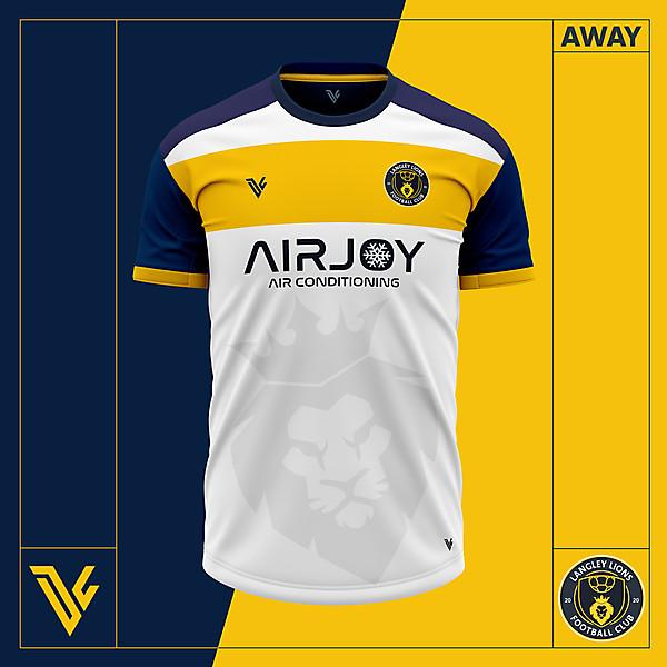 Langley Lions Football Club 2020/21 Away