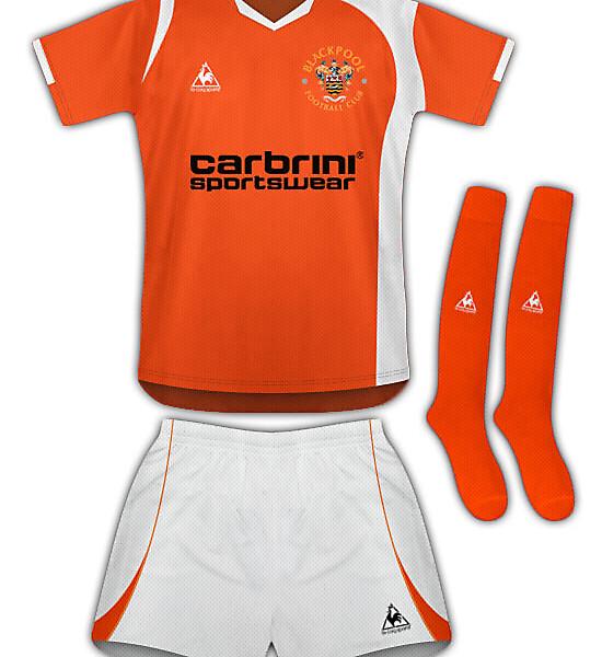 Blackpool 10/11 Home Kit