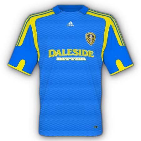 Leeds away kit