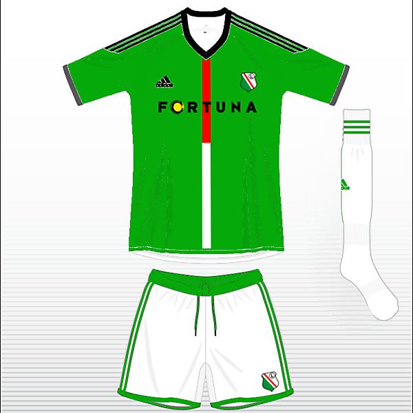 Legia Warszawa Away Kit
