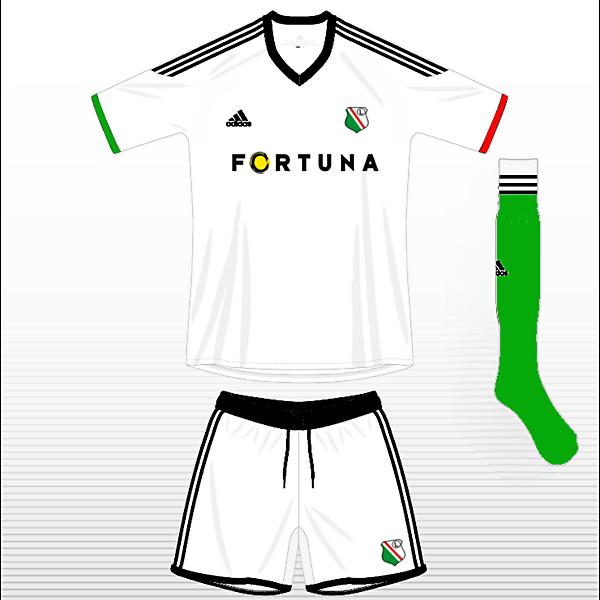 Legia Warszawa Home Kit