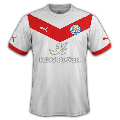 Leicester Away Kit 2015-16