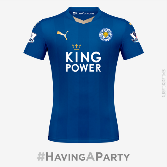 Leicester City   Champions of England 2015 / 2016