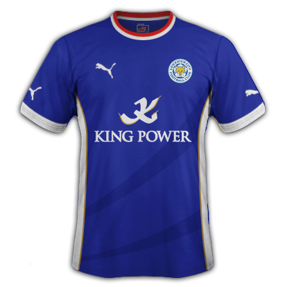 Leicester Home Kit 2015-16